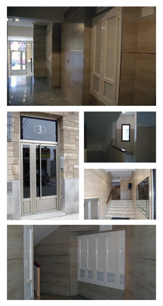 Montestur. Rehabilitación del Portal de un Edificio de Lugones